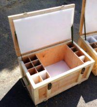 Изготовление ящиков из фанеры